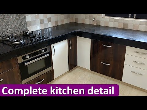 Complete Kitchen Design With Detail