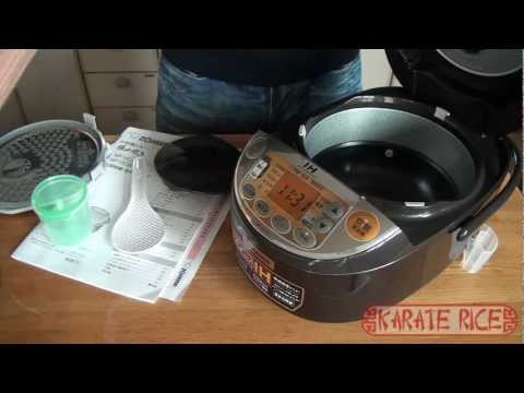 Zojirushi Rice Cooker [Unboxing]