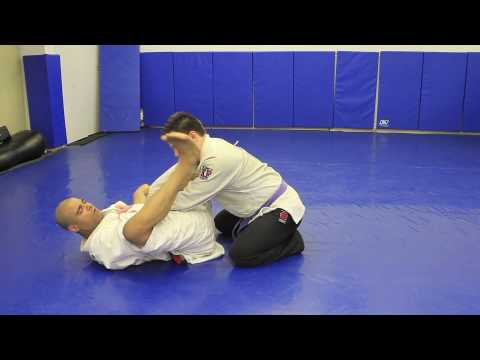 How to do a Variation of the Triangle from Guard