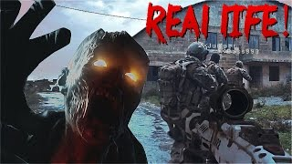 Video VIDEOGAMES IN REAL LIFE! - Call of Duty Zombies Black Ops 3 (60fps) MP3, 3GP, MP4, WEBM, AVI, FLV Juli 2017