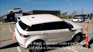 A fábrica da Jaguar Land Rover em Itatiaia