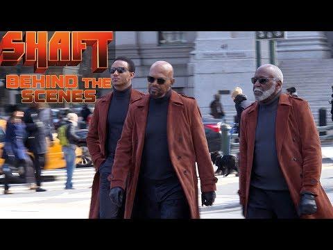 'Shaft' Behind the Scenes