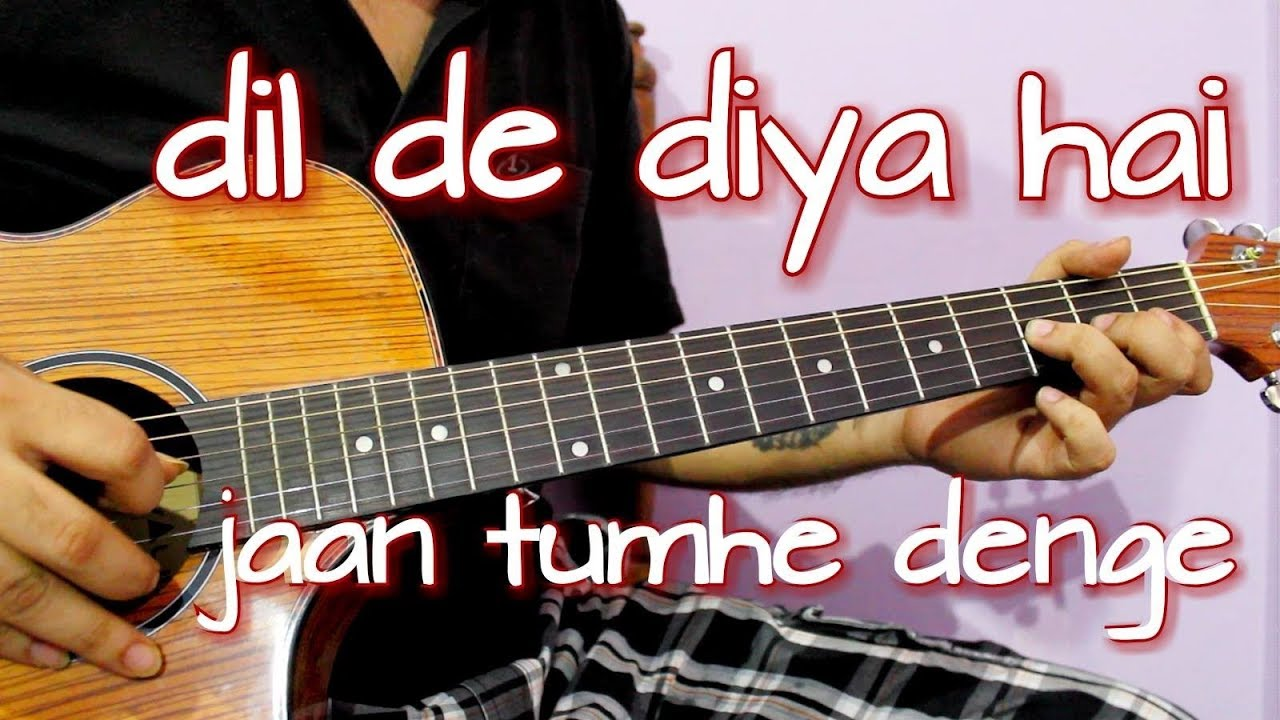 Most Heartbreaking Romantic Bollywood Song – Easy Guitar Tabs Lesson