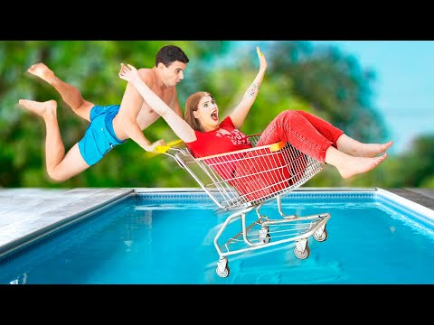 The Last Girl and Boy on Earth! / 8 Funny Situations