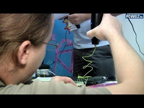 IFA 2013: 3D-Druck-Stift 3Doodler vorgestellt