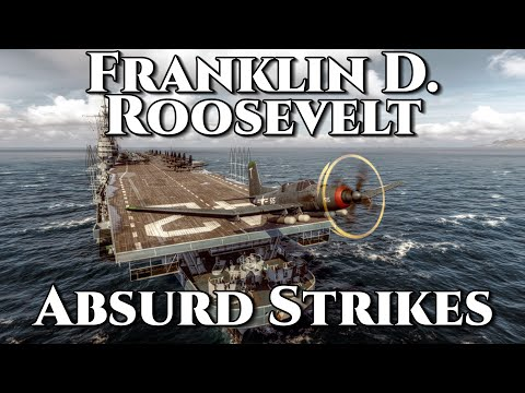 World of Warships: Franklin D. Roosevelt (FDR) - Absurd Strikes