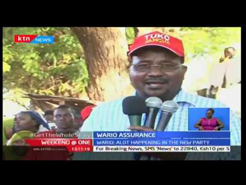 Weekend at One: Bura MP Ali Wario reassures of Jubilee party's unseen works and plans, 23/10/16