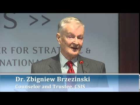 Brzezinski - Dr. Zbigniew Brzezinski spoke at counselor and Trustee, CSIS. Please join us for an important discussion that will assess the new dynamics in Europe's securi...