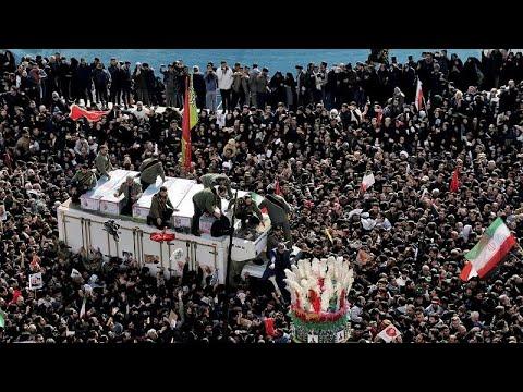 Iran: Zwei Millionen fordern in Teheran Rache für Sol ...
