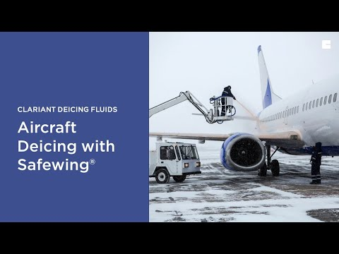 Safewing® De-icers - Aircraft Deicing Solutions