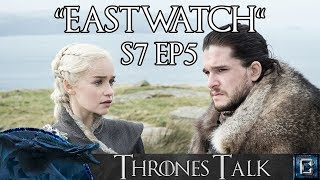 Collider Thrones Talk is here to discuss and review the fourth episode of Season 7 of Game of Thrones. Join host Ken Napzok and his roundtable of experts: ...