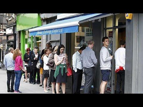 Μ. Βρετανία: ουρές στα ανταλλακτήρια για ευρώ και δολάρια! – economy