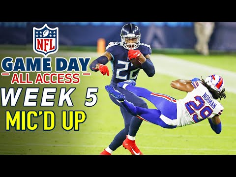 """NFL Week 5 Mic'd Up! """"You threw him into the suites! """" 