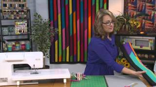 """My First Quilt - Episode 8 - How to Make a Quilt with Pre-cuts: 2½"""" Strips"""