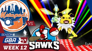 New York Metapods vs Boston Red Sawks! Week 12 GBA | Focus Pokemon ORAS Wifi Battle by aDrive