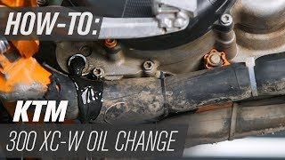 2. How To Change The Transmission Oil On A KTM 300 XC-W