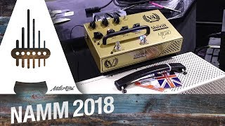 2. Victory - Super Kraken, V30 MKII and all new PEDALS! - NAMM 2018