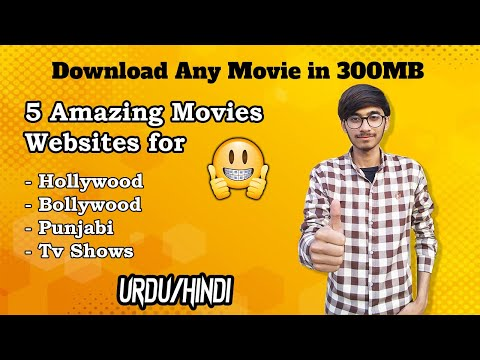 Top 5 best movies websites in 2021   How to download any movie in 300MB   Urdu-Hindi   How 2 Tech