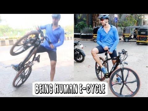 Amit Sadh Riding His Brand New Being Human Bike