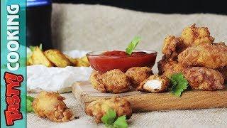 KFC Chicken Popcorn Recipe HOW TO MAKE KFC Popcorn Chicken Tasty Cooking Please, subscribe - https://goo.gl/fXG6Js...