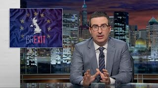Britain could soon vote to leave the European Union. John Oliver enlists a barbershop quartet to propose a smarter option.