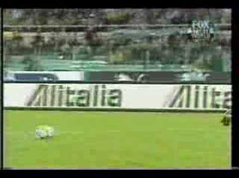 Todos los Goles de Crespo en Italia