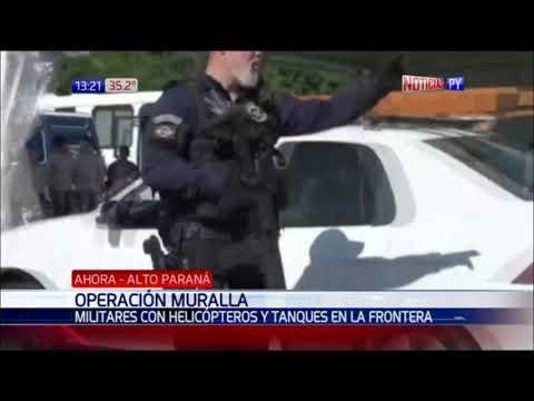 Brasileños refuerzan control militar en la Frontera