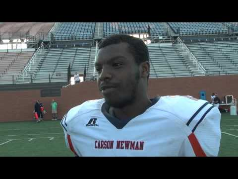 C-N Football: Lonnie Williams post spring game 3-11-14