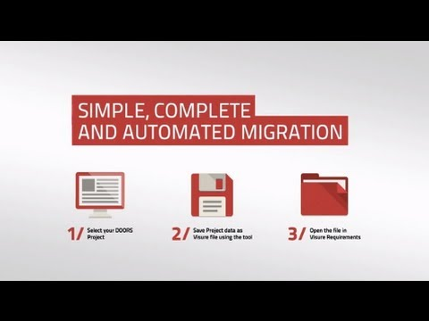 Why Choose Visure for IBM DOORS Migration