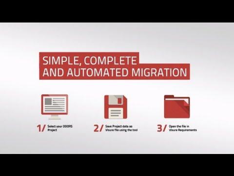 Why Choose Visure for IBM DOORS Migration
