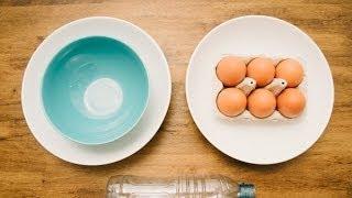 Astuces pour séparer les jaunes des blancs d'oeufs facilement et rapidement