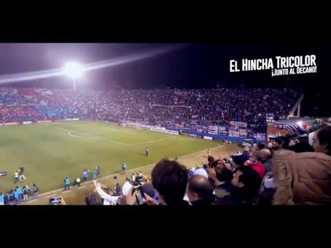 Recibimiento Hinchada Nacional vs Boca - Libertadores 2016 - La Banda del Parque - Nacional