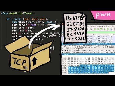Developing a TCP Network Proxy - Pwn Adventure 3