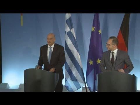Επίσκεψη του υπουργού Εξωτερικών, Νίκου Δένδια, στη Γερμανία