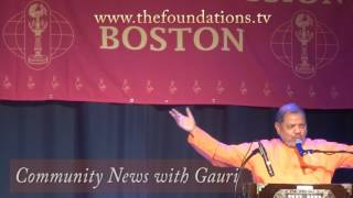 6 Day event at Chinmaya Mission Boston – Glimpses