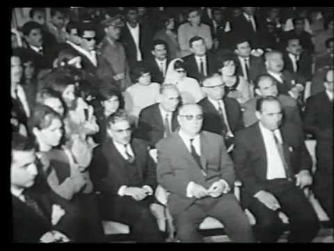 Jordan university opening ceremony in 1962 (Arabic)