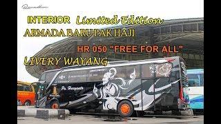 "Video LIMITED EDITION !!! INTERIOR HR 050 ""FREE FOR ALL"" Mercedes Benz 1626 NG - Livery Wayang MP3, 3GP, MP4, WEBM, AVI, FLV Januari 2018"