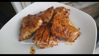 My Seasoned Butter Sauce Chicken breast. Made the recipe up but it was well worth it. Tasted so good. this is a very simple yet delicious recipe. try it out and ...