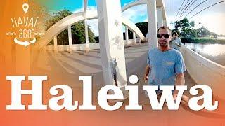 Video Conheça o centrinho comercial e a praia de Haleiwa | Havaí 360° MP3, 3GP, MP4, WEBM, AVI, FLV Januari 2019
