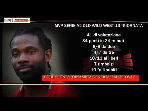 Serie A2 Old Wild West: MVP 13. giornata Bobby Jones