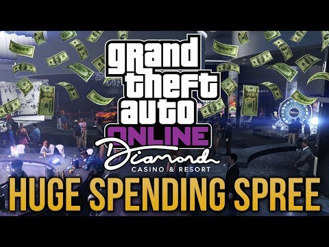 GTA Online Diamond Casino Update - HUGE SPENDING SPREE! All New Cars, Gambling & New Missions