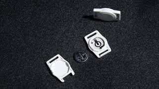 W3 exhibition bluetooth beacon portable as a neck chain for exhibition youtube video