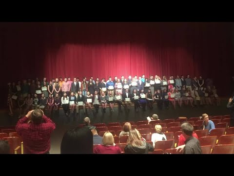 Roanoke County high school students honored at scholarship event