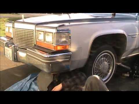 1981 Cadillac Bumper Fix
