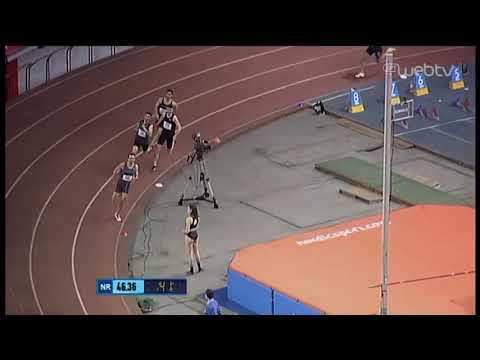 Ο Κυριακίδης του Ολυμπιακού με διαφορά πρώτος στα 400μ! | 28/02/2020 | ΕΡΤ