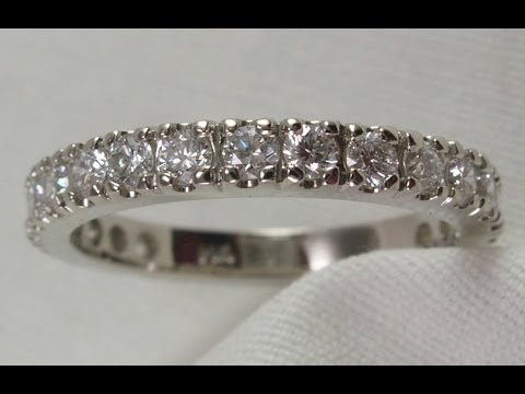 Making A 20 Stone Diamond Anniversary Ring