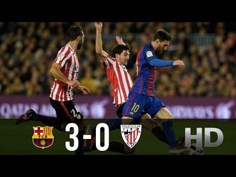 Video Barcelona vs Athletic Bilbao 3-0 All Goals and Highlights La Liga 04.02.2017 HD download in MP3, 3GP, MP4, WEBM, AVI, FLV February 2017