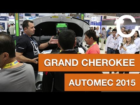 Grand Cherokee direto do estande BOSCH - AUTOMEC 2015