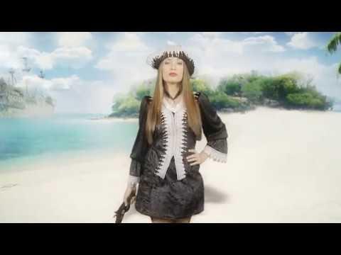Déguisement Pirate Corsaire Noire pour femme