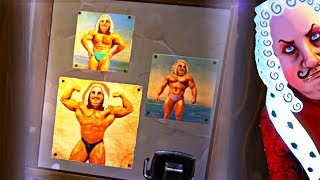 THE KING IS RIPPED!! SECRET SHRINE TO HIMSELF!! (Goodbye My King Game / Gameplay Goodbye My King)